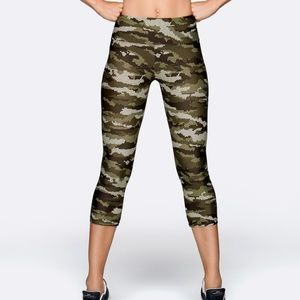NWT Lorna Jane Command Core 7/8 Leggings Core Stab